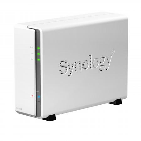 Сетевое хранилище Synology DS115j 1x2,5 / 3,5 сетевое хранилище synology ds1817 8gb