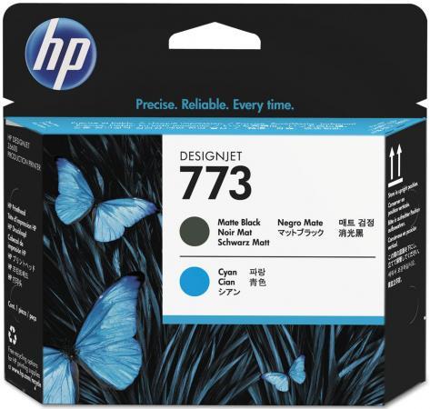 Печатающая головка HP C1Q20A №773 для HP Designjet Z6600 матовый черный/голубой hot sales 80 printhead for hp80 print head hp for designjet 1000 1000plus 1050 1055 printer