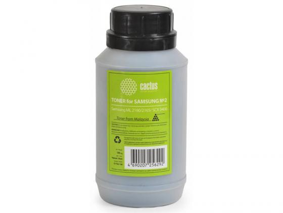 Тонер Cactus CS-TSG2-100 для Samsung ML 2160 2165 SCX 3400 черный 100гр lassie 180 100гр purple