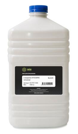 Тонер Cactus CS-TKY-1000 Universal toner Kyocera черный 1000гр compatible toner tektronix 790 printer bulk toner powder for tektronix phaser 790 790dp 790n toner refill for tektronix toner