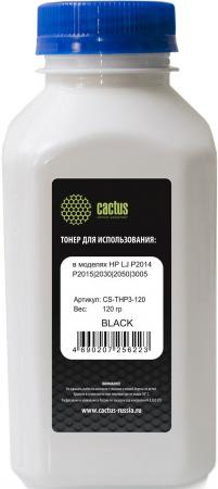 Тонер Cactus CS-THP3-120 для HP LJ P2014/P2015/2030/2050/3005 черный 120гр 2pcs lot alzenit for ricoh mpc 2030 2010 2530 2050 2550 oem new drum cleaning blade printer parts
