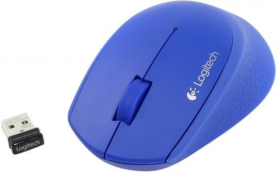 Мышь беспроводная Logitech M280 синий USB 910-004294/910-004290 цена 2017
