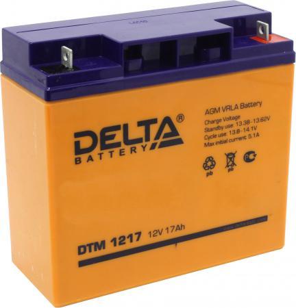 Батарея Delta DTM 1217 17A/hs 12W все цены