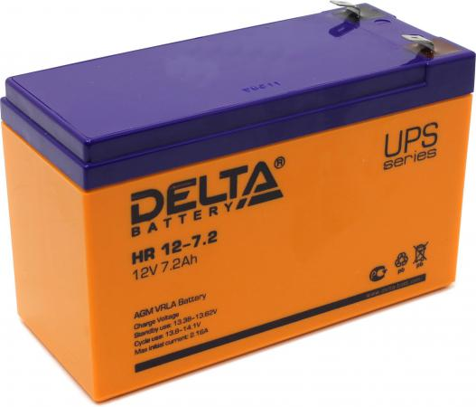 Батарея Delta HR12-7.2 7.2A/hs 12V delta bub0812hd hm00 bj91 dc 12v 0 53a server blower fan