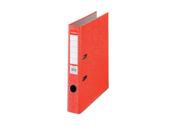Папка-регистратор Esselte Rainbow А4 50мм картон красный 17921P