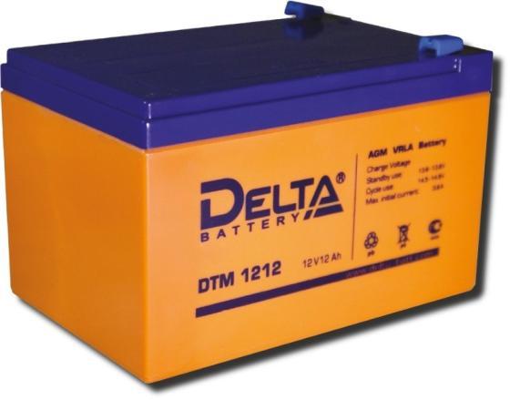 Батарея Delta DTM 1212 12A/hs 12W все цены