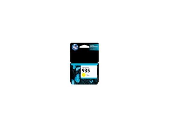 Картридж HP C2P22AE для Officejet Pro 6230 6830 желтый 400стр №935 картридж hp c9391ae 88xl cyan для officejet pro k550 k5400 l7580 l7680 l7780