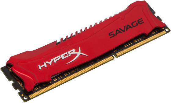 Оперативная память 8Gb PC3-14900 1866MHz DDR3 DIMM CL9 Kingston HX318C9SR/8 XMP HyperX Savage