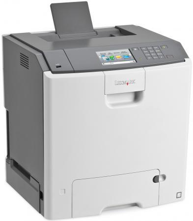 Принтер Lexmark C748de цветной A4 33ppm 1200x1200dpi Duplex Ethernet USB белый 41H0070 принтер lexmark ms510dn ч б a4 42ppm 1200x1200dpi ethernet usb 35s0330
