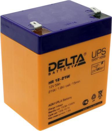 Батарея Delta HR 12-21W 5Ач 12B цена