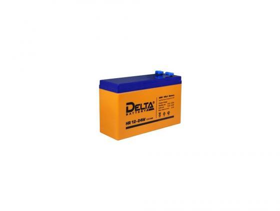 Купить Батарея Delta HR 12-24W 6Ач 12B, Батарея свинцово-кислотная