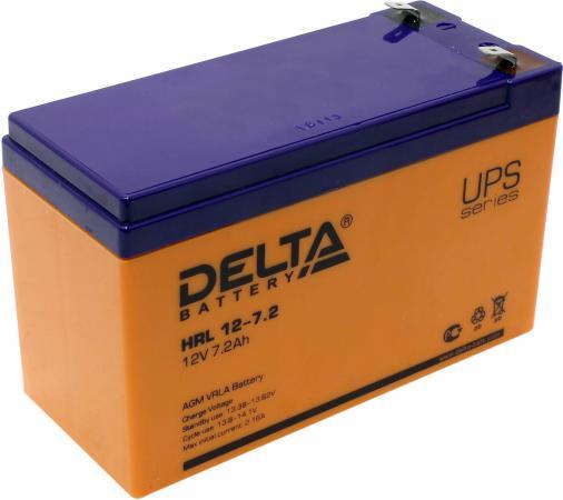Батарея Delta HRL 12-7.2 7Ач 12B delta dtm 1207 7ач пр