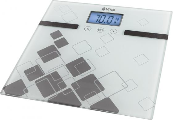 Весы напольные Vitek VT-1984 GY серый  весы напольные vitek vt 1984 gy серый
