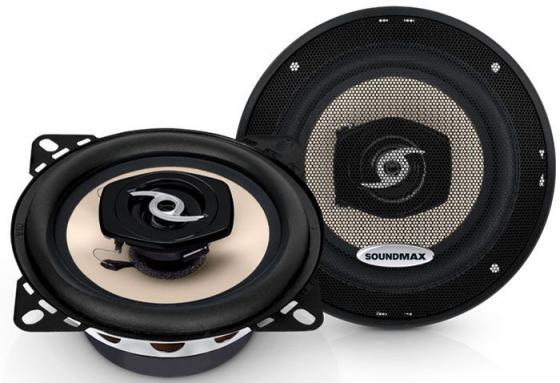 Автоакустика Soundmax SM-CSA402 коаксиальная 2-полосная 10см 50Вт-100Вт автоакустика soundmax sm cse403 коаксиальная 3 полосная 10см 50вт 100вт