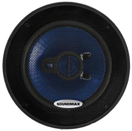 Автоакустика Soundmax SM-CSE503 коаксиальная 3-полосная 13см 60Вт-120Вт сандерсон б рожденный туманом книга 1 пепел и сталь