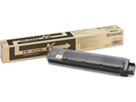 Картридж Kyocera TK-8325K для TASKalfa 2551ci черный 12000стр тонер картридж kyocera tk 8325k