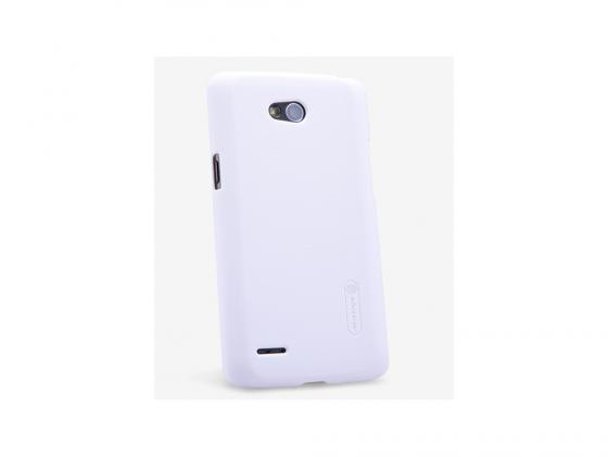 Накладка Nillkin Super Frosted Shield для LG L80 D380 белый T-N-LL80-002 чехлы для телефонов nillkin lg l80 d380 nillkin super frosted shield
