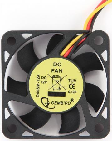 Кулер для видеокарты Gembird D40SM-12A 40x40