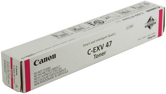 Фото - Картридж Canon C-EXV47M для iR-ADV С351iF/C350i/C250i пурпурный meike fc 100 for nikon canon fc 100 macro ring flash light nikon d7100 d7000 d5200 d5100 d5000 d3200 d310