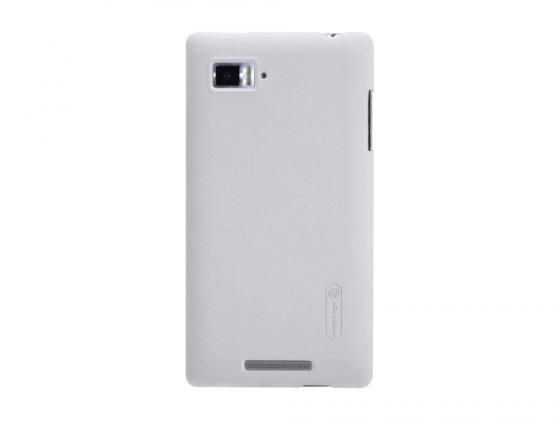 Накладка Nillkin Super Frosted Shield для Lenovo K910 VIBE Z белый lenovo vibe c2 k10a40 dual sim 8gb lte black