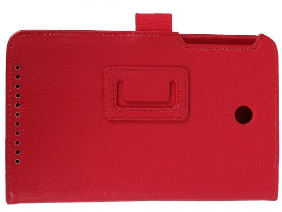 Чехол IT BAGGAGE для планшета Asus MeMO Pad 7 ME176 искуственная кожа красный ITASME1762-3 чехол it baggage для планшета asus memo pad 7 me176 искус кожа с функцией стенд белый itasme1762 0