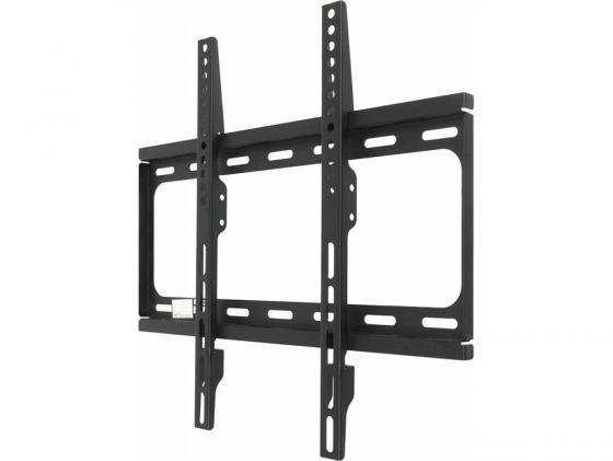 Кронштейн HAMA H-118668 XL черный для ЖК ТВ 23-65 настенный VESA 400x400 max 30 кг кронштейн для тв hama h 108771 xl