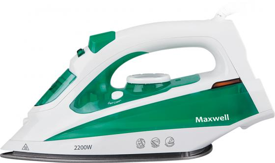 Утюг Maxwell MW-3036-G 2200Вт зеленый s цена и фото