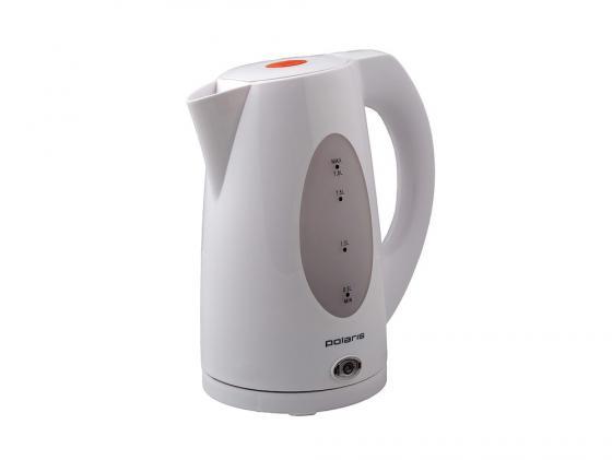 Чайник Polaris PWK 1885C 2200 Вт 1.8 л пластик белый серый