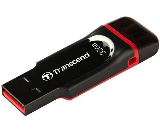 Флешка USB 32Gb Transcend JetFlash 340 TS32GJF340 черный цена и фото