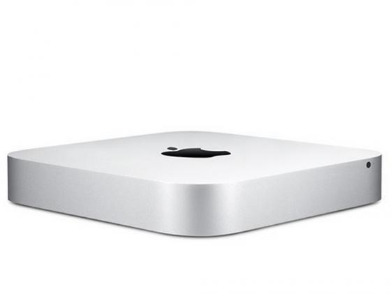 все цены на Неттоп Apple Mac Mini MGEM2RU/A i5 1.4GHz 4GB 500Gb HD5000 Bluetooth Wi-Fi серебристый алюминиевый онлайн