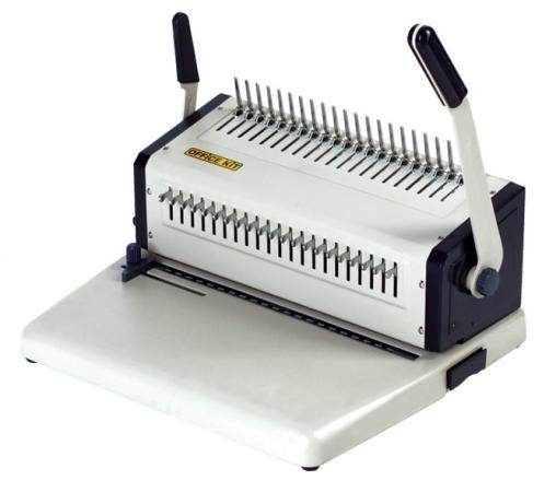Переплетчик Office Kit B2125 A4 перфорирует 25 листов сшивает 500 листов пластиковые пружины 4.5-51мм брошюровщик fellowes orion 500 a4 перфорирует 30 листов сшивает 500 листов пластиковые пружины 6 51мм fs 5642601