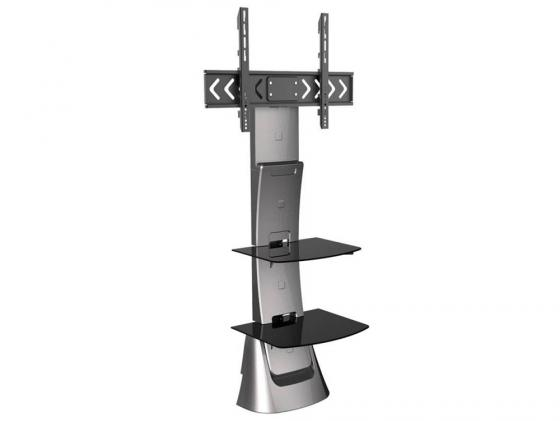 """Кронштейн ARM Media TRITON-10 серый для LCD/LED ТВ 37-70"""" настенный наклон -10°/+5° поворот 8° VESA 200х100 max 40 кг цена и фото"""