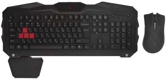 купить Комплект A4Tech Bloody Q2100/В2100 черный USB онлайн