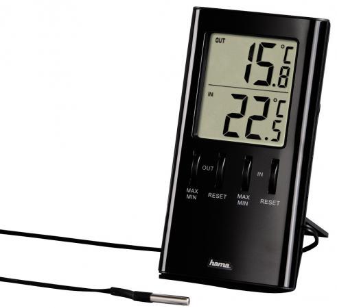 Термометр Hama TH-350 H-123143 черный термометр hama h 123143 т 350