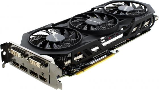 Видеокарта 4096Mb Gigabyte GeForce GTX970 PCI-E 256bit GDDR5 DVI HDMI HDCP GV-N970WF3OC-4GD Retail maxsun ms gtx750 geforce gtx 750 2g gddr5 graphics card with hdmi vga dvi interface