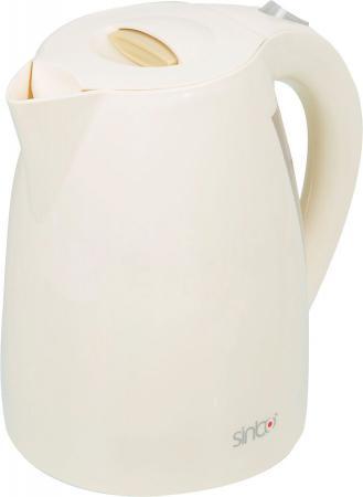 цены Чайник Sinbo SK-7314 2000Вт 1.7л пластик бежевый