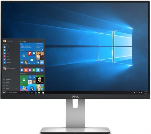 Монитор 24 DELL U2415 черный AH-IPS 1920x1200 300 cd/m^2 6 ms HDMI DisplayPort Mini DisplayPort Аудио USB 2415-0869 монитор 25 dell up2516d черный ah ips 2560x1440 300 cd m^2 6 ms hdmi displayport mini displayport аудио usb