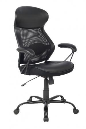 Кресло руководителя College HLC-0370 экокожа крестовина хром/металл подлокотники пластик черный кресло college hlc 0370 коричневый