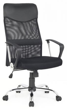 Кресло руководителя College H-935L-2 ткань крестовина хромированный металл подлокотники пластик черный кресло college h 8078f 5 ткань офисное крестовина хромированный металл подлокотники пластик коричневый