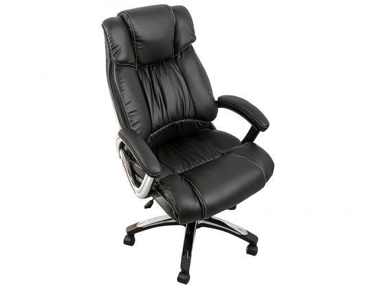 Кресло руководителя College H-8766L-1 экокожа крестовина хром подлокотники кожа/хром черный цена 2017