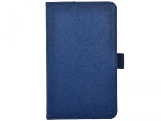 все цены на Чехол IT BAGGAGE для планшета Asus Fonepad 7 FE170CG ME170С искуственная кожа синий ITASFE1702-4 онлайн