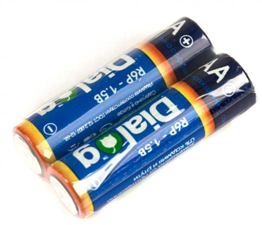 Батарейки Dialog R6P-2S AA 2 шт