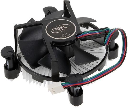 Кулер для процессора Deep Cool CK-11509 PWM Socket 1150/1155/1156 deepcool ck am209 кулер для процессора