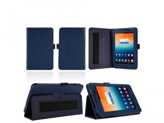 Чехол IT BAGGAGE для планшета Lenovo Tab A7-50 A3500 7 искуственная кожа синий ITLNA3502-4