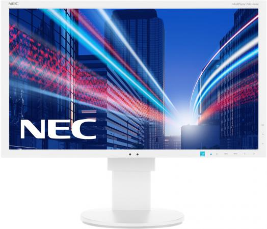 Монитор 23 NEC EA234WMI белый IPS 1920x1080 250 cd/m^2 6 ms DisplayPort VGA Аудио USB DVI HDMI L232QA монитор nec e241n bk черный ah ips 1920x1080 250 cd m^2 6 ms hdmi displayport vga аудио