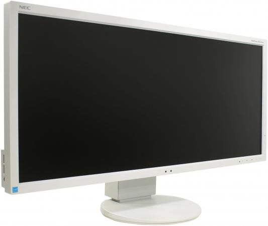 Монитор 29 NEC EA294WMI белый серебристый IPS 2560x1080 300 cd/m^2 6 ms VGA DVI HDMI DisplayPort Аудио USB