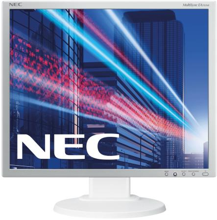 Монитор 19 NEC EA193MI серебристый белый AH-IPS 1280x1024 250 cd/m^2 6 ms DVI DisplayPort VGA Аудио монитор nec e241n bk черный ah ips 1920x1080 250 cd m^2 6 ms hdmi displayport vga аудио