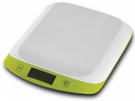 все цены на Весы кухонные Supra BSS-4098 зелёный белый онлайн