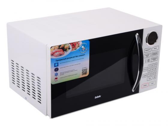 Микроволновая печь BBK 23MWS-916S/BW 900 Вт чёрный белый