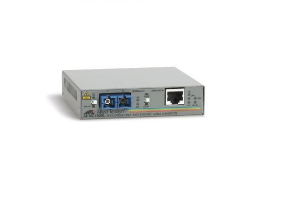 Медиаконвертер Allied Telesis AT-MC103XL-yy 100BaseTX to 100BaseFX SC Singlemode 15km qq yy